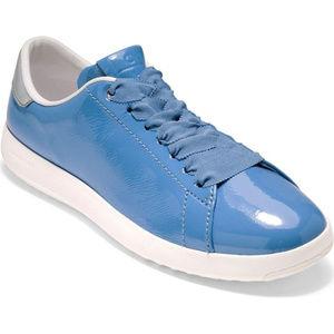 COLE HAAN Grandpro Tennis Shoe Riverside Blue 7